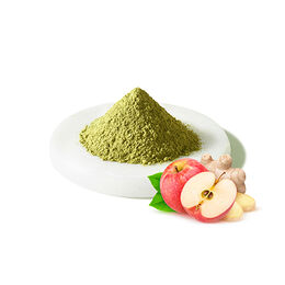 Matcha pomme-gingembre