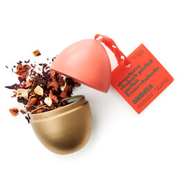 Œuf de Pâques Parfait fraise-rhubarbe