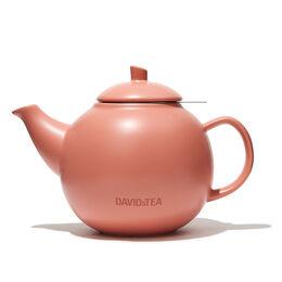 Bubble Teapot Matte Terracotta