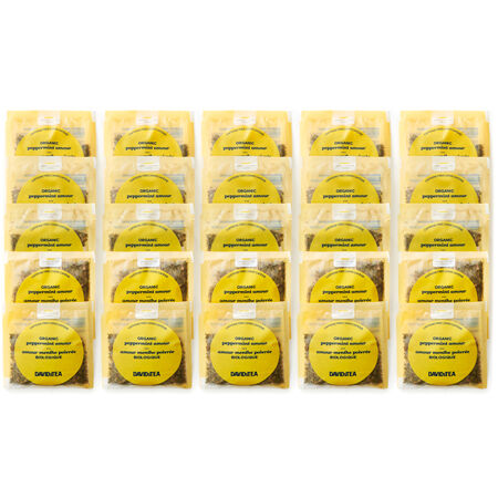 Organic Peppermint Amour Sachets Pack of 25