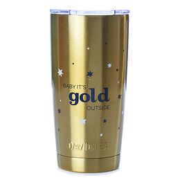 Perfect Tumbler Baby It's Gold Outside
