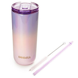 Favourite Tumbler Two Tone Holographic Purple & Pink