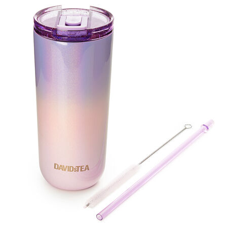 Purple & Pink Holographic Two Tone Favourite Tumbler