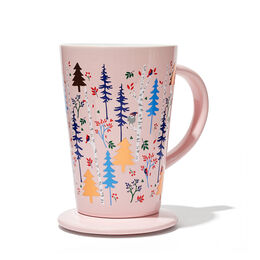 Perfect Mug Winter Trees Pink