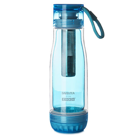 Aqua Zoku Glass Bottle