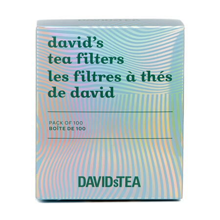 Relaxation David's Tea Filters Pack of 100