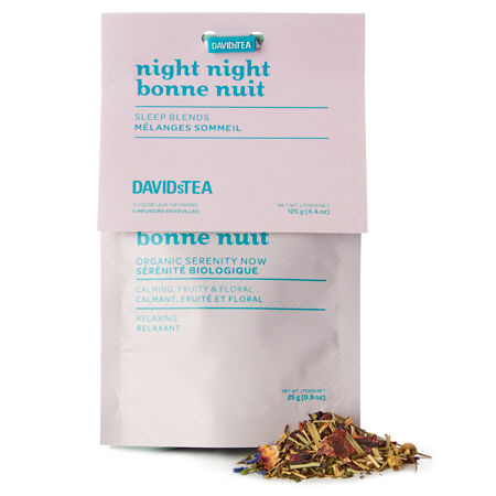 Night night sleep tea sampler