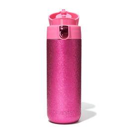 Lock Top Crackled Pink