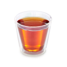 Double Walled Nevis Glass Cup