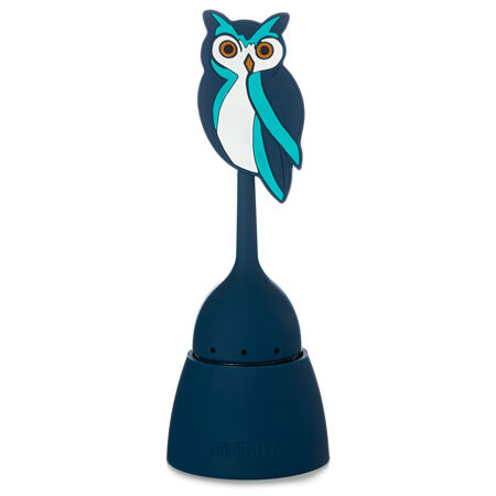 Owl Infuser with Saucer