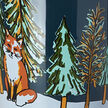 Winter Fox Nordic Mug