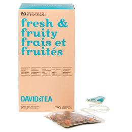 Fresh & Fruity Tea Sachet Variety Pack of 20