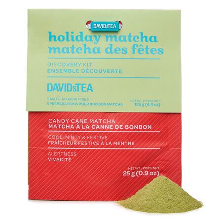 Holiday matcha discovery sampler