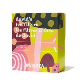 Mushroom David's Tea Filters Pack of 100