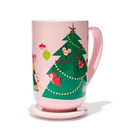 Nordic Mug Xmas Tree Pink
