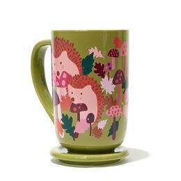 Color Changing Nordic Mug Hedgehog Green