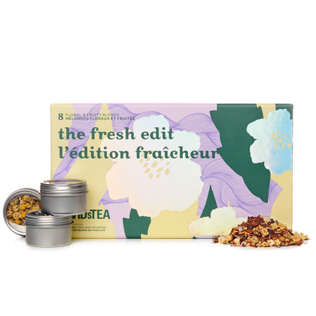 The Fresh Edit 8 Tea Sampler