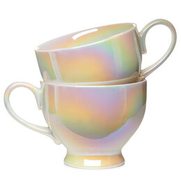 Bloom Teacup Opalescent (set of 2)