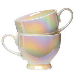 Bloom Teacup Opalescent (set of 2)