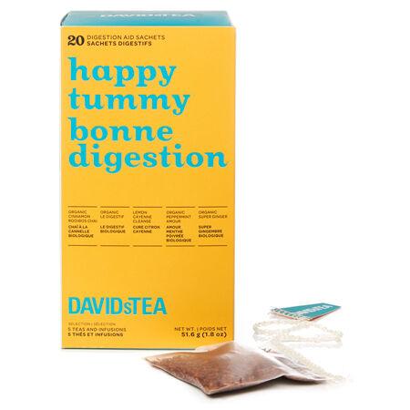 Happy Tummy Tea Sachet Variety Pack of 20