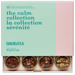 the calm collection 12 tea sampler