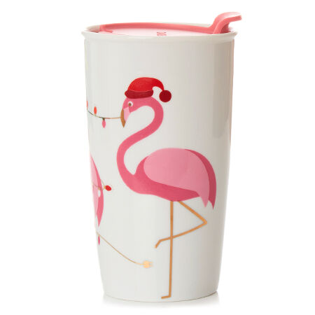 Flamingo Twist Tumbler