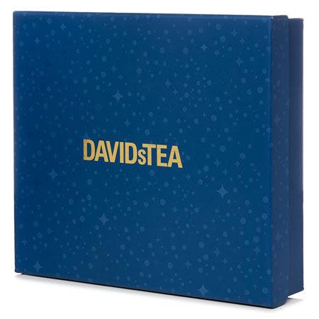 Boîte-cadeau bleu foncé