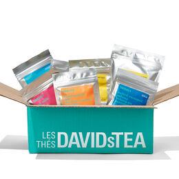 Coffret dégustation suprême - 15sacs de thés d'automne Sélection des guides du thé