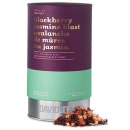 Grand solo de thé Avalanche de mûres au jasmin - Série limitée boîte imprimée