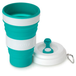 Iced Tea Collapsible Cup Teal