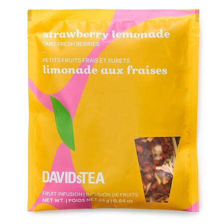 Portion pour pichet de thé glacé Limonade aux fraises