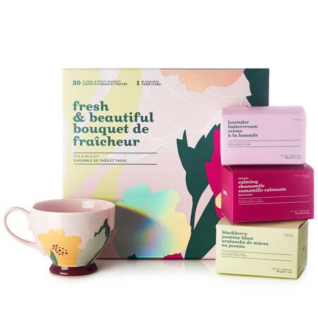 Fresh & Beautiful Tea & Mug Kit