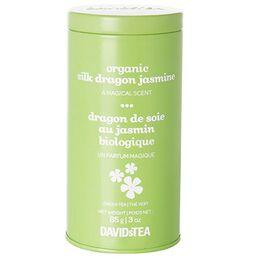 Organic Silk Dragon Jasmine Rainbow Tin