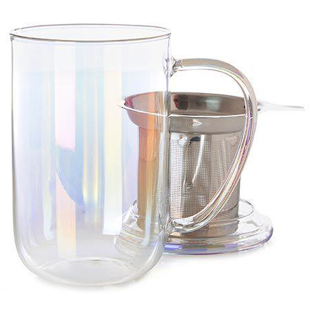 Iridescent Glass Nordic Mug