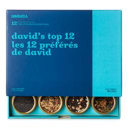 Coffret dégustation Les 12préférés de David