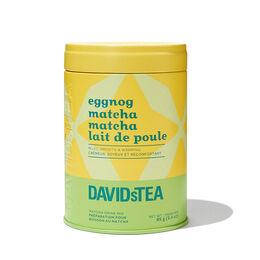 Eggnog Matcha Tea Iconic Tin