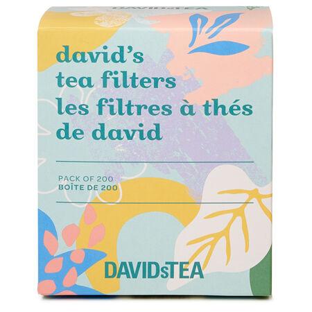 Camellia David's Tea Filters Pack of 200