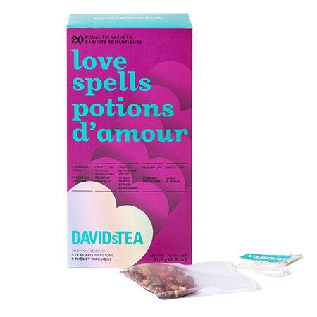 Love Spells Tea Sachet Variety Pack