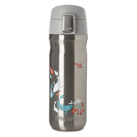 Koi Lock Top Travel Mug