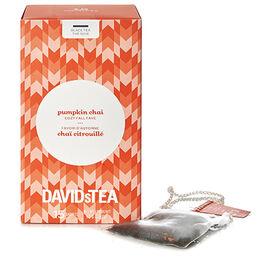 Sachets de thé Chaï citrouillé