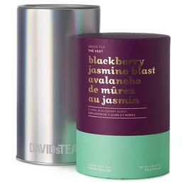 Grand solo de thé Avalanche de mûres au jasmin - Série limitée boîte iconique imprimée