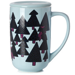 Color Changing Nordic Mug Owls & Pines