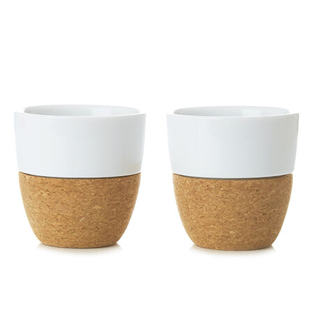Viva Lauren White Tea Cup Set of 2