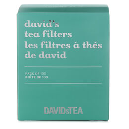 David's Tea Filters Pack of 100
