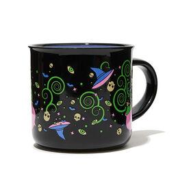 Tasse à latte à motif surnaturel