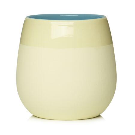 Beige Bubble Cup
