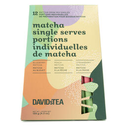 Matcha Single Serves Variety Pack