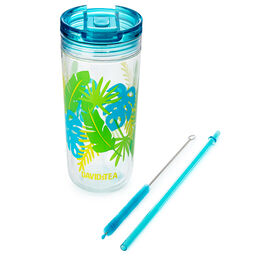 Favourite Tumbler Tritan Tropical Green
