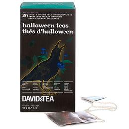 Halloween tea sachet variety pack of 20