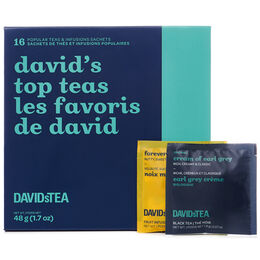 David's Top Teas Mini Sachet Tea Chest